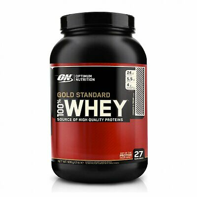 ON Optimum Nutrition Gold Standard Whey Protein Powder - 908g - 48 HOUR DEAL!!!