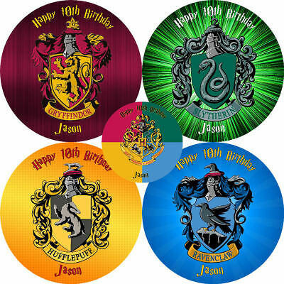 "HARRY POTTER VARIOUS 8"" Round Premium Icing Sheet Customised Cake Topper"