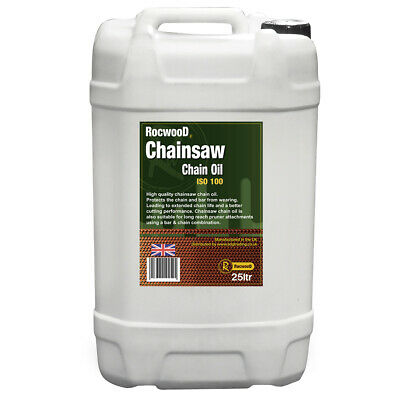 Chainsaw Saw Chain Oil 25 Litres 25L For Guide Bar Pump Rocwood Brand For All