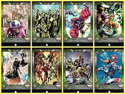 Topps MARVEL COLLECT DIGITAL Card FACTIONS SERIE 2 [8 CARD SET] AWARD READY