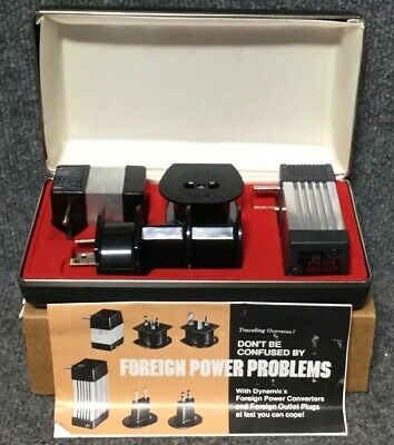 DYNAMIC INSTRUMENTS Foreign Travel power converter kit FC-16