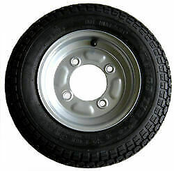 "350 X 8"" Spare Wheel for Erde 102 and Maypole 711 Trailers -  UK Seller - RS350X"