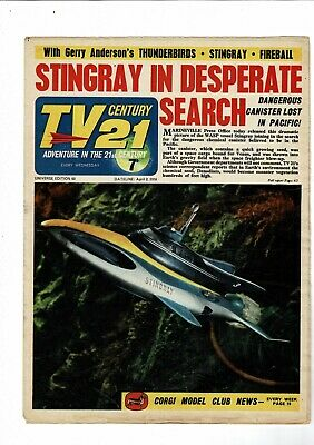 TV Century 21 COMIC no. 63 April 2 1966  7d