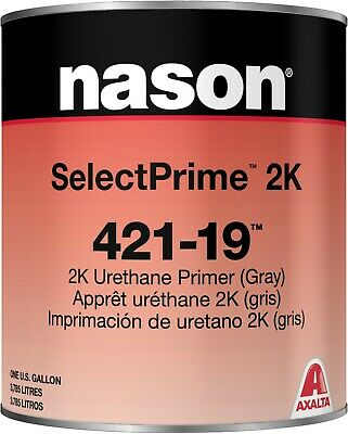 Nason 2K Urethane Gray Primer 421-19 Gallon & Activator 483-87 Quart Kit