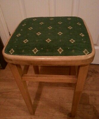 Retro Vintage Mid Century Kitchen Stool/Seat