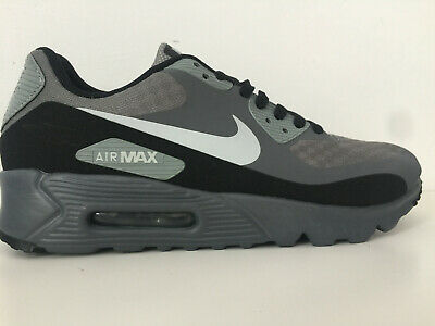 Mens Nike Air Max 90 Trainers Ultra Essential Grey Black White New In Box Adult