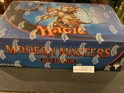 Modern Masters 2015 FACTORY SEALED Booster Box 24 Packs MTG Magic The Gathering