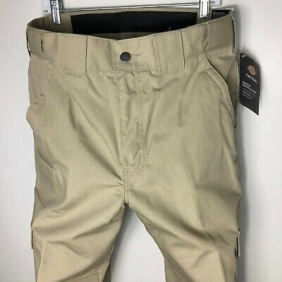 Dickies Men's Lightweight Relaxed Fit Straight Ripstop Tactical Duty Pants 34x32
