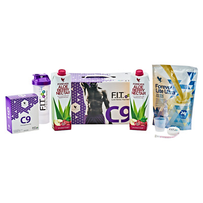 Forever C9 - GREAT TASTING BERRY ALOE DRINK, clean 9, diet detox