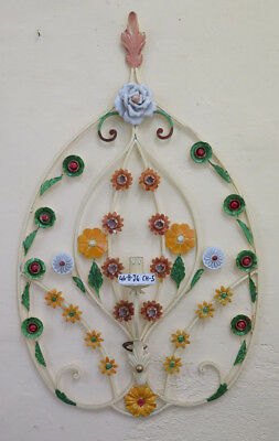 Wall Wrought Iron Style Floral Vintage Light Wall Wall Light CH-5
