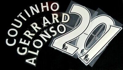 Official Liverpool 2007/12 Football Shirt Name/Number Player size issue Lextra/