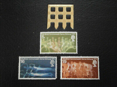 Gb Stamps 1970 - 9Th British Commonwealth Games -  Mint Hinged