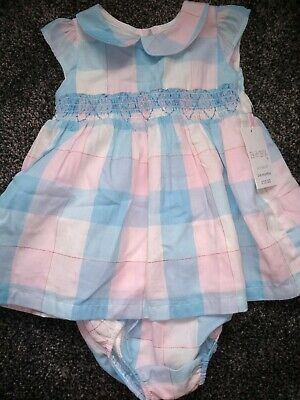 Gorgeous Baby Girls dress & knickers 3-6 months BRAND NEW WITH TAGS RRP £12.50