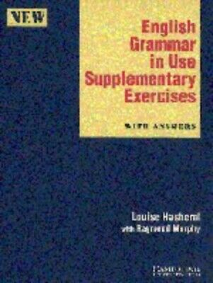 English Grammar in Use Supplementary Exercises wit by Murphy, Raymond 0521449545