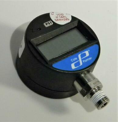 Cole Parmer PG-2000 0-200 PSI Digital Pressure Gauge