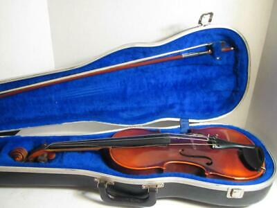 E. R. Pfretzschner Violin Antonius Stradivarius Copy in Case with Bow - L@@K!!