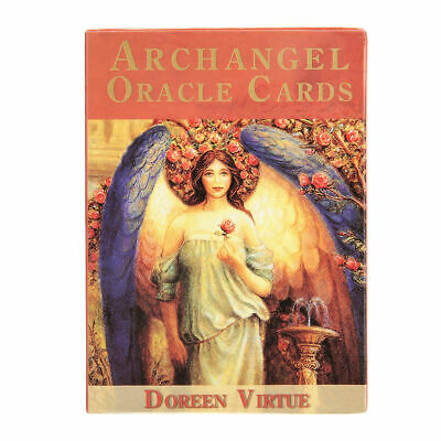 45x Archangel Cards Angel Tarot Deck Card Oracle Earth Magic Fate Divination