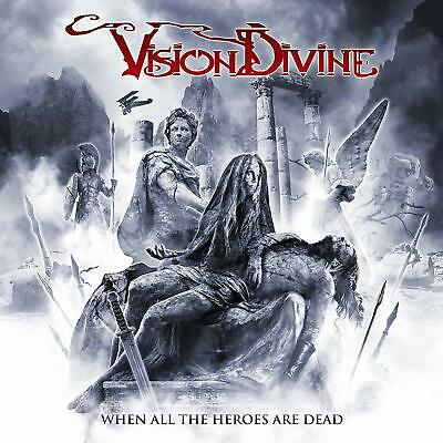 Vision Divine When All The Heroes Are Dead CD Digipak Nuovo