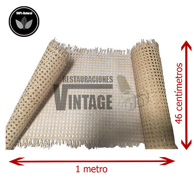 Webbing Cane 100% Vegetable by Metre, Quality Grade Aa