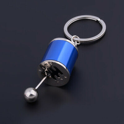 Car Short Shifter Gear Stick Knob Keyring Keyfob Keychain Shift Turbo Mini Drift