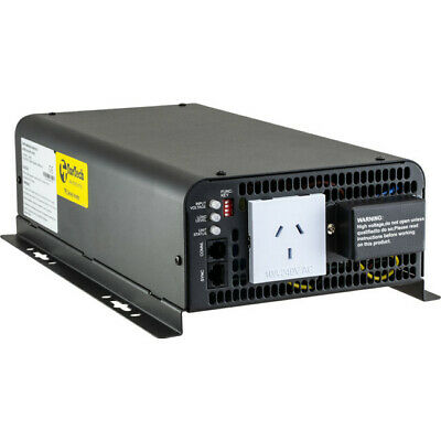 INVTPS1012 TORTECH 1000W True Sine Wave Inverter 12Vdc To 240Vac Pure Sine