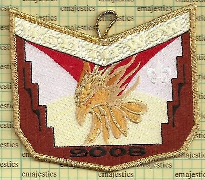 Section W5D 2007 Conclave Full Patch Set Lodge 407 508 520 535 Mint FREE SHIP