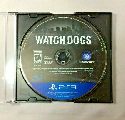 Watch Dogs (Sony PlayStation 3, 2014) PS3 Disc Only