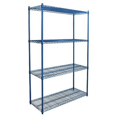 Powder Coated Wire Casifit Shelving Unit, 455mm X 910mm