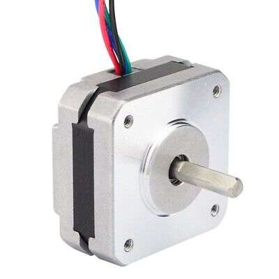 17Hs08-1004S 4-Lead Nema 17 Stepper Motor 20Mm 1A 13Ncm(18.4Oz.In) 42 Motor U2T1