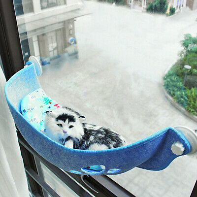 Cat Pet Window Bed Window Perch Hammock Window Seat Mat Pet Cushion Mounted