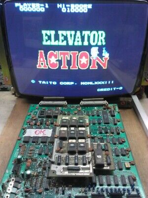 TAITO ELEVATOR ACTION Arcade PCB **tested** WORKING 100%
