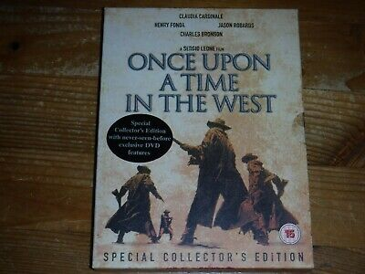 Once Upon A Time In The West Special Collectors Edition (DVD, 2003, 2-Disc Set)