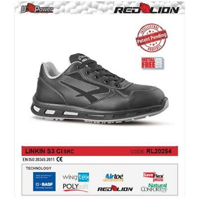 Upower Scarpe Lavoro Antinfortunistica Linkin S3 Ci Src U-Power Rl20254