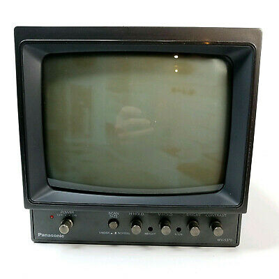Panasonic Video Monitor WV-5370 Security Retro
