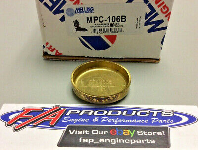 Pioneer EPC-106-B 1-49//64 Brass Freeze Plugs Qty: 2 Made In The USA