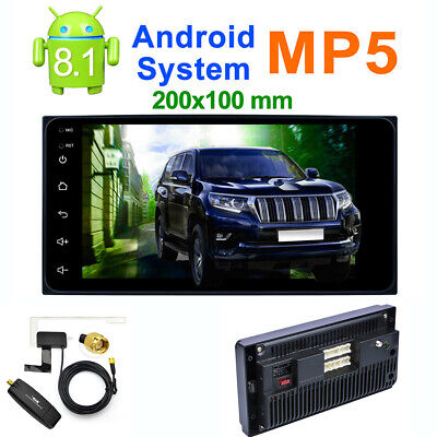 """7"""" Android 8.1 Car MP5 GPS Bluetooth 1 + 16G with USB DAB Receiver for TOYOTA"""