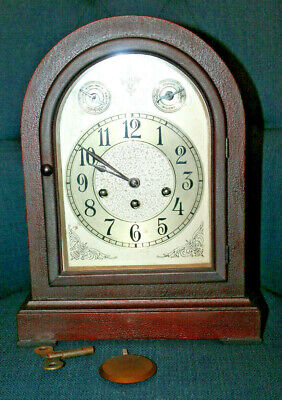 Antique Seth Thomas Mantle Clock with Westminster Chimes Working