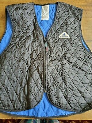 Hyper Kewl Thermafur Air-Activated Mens Snowmobile Heated Vest