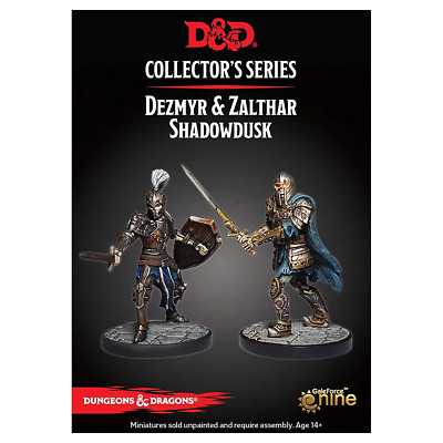 D&D Collectors Series Waterdeep Dungeon of the Mad Mage Dezmyr & Zalthar Shadowd