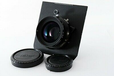 Nikon Nikkor W 150mm F/5.6 S Copal 0 Shutter 4x5 Lens From JAPAN #1478