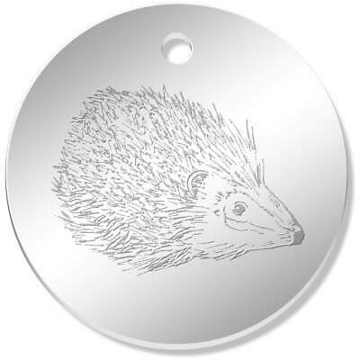 8pcs Antique Silver Mini Hedgehog Shaped Alloy Pendants Charms Findings 52157