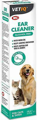 Pet/Dog/Cat Ear Cleaner Itchy/Odor/Gunk Natural Drops Yeast/Mites/Infection Vet