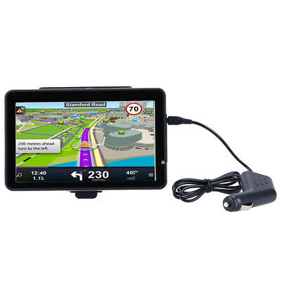 """7"""" Truck Car GPS Navigator with Free Maps Car Charger Music Player (701) #gib"""