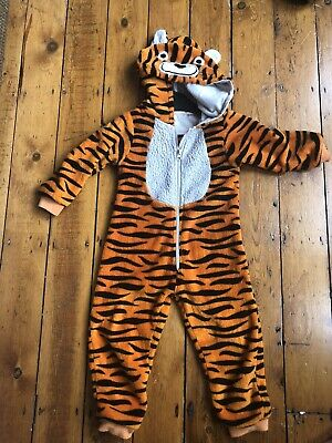 Kids Tiger All In One PJ Aged 3 Years From John Lewis