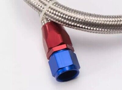 AN10 Straight Fuel Swivel Fitting Hose End Oil Fuel Adaptor