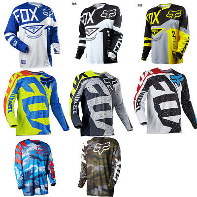 2019 Fox Racing Jersey Shirt Men's Motocross/MX/ATV/BMX/MTB Cycling Bike Tops US