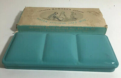Vintage Rowney's Water Colour Gift Box No. 63 Rowney Rare