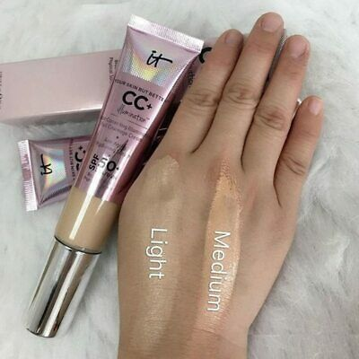 CC+ Cream Illumination With SPF 50+ Light/Medium IT Cosmetics Foundation