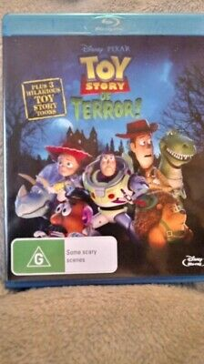 Toy Story Of Terror! (2013) Blu Ray Region Free New/Unsealed  Cheapest On Ebay