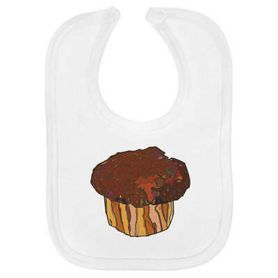 'Chocolate Muffin' Baby Bib  (BI00016818)